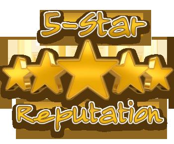 5 Star Reputation